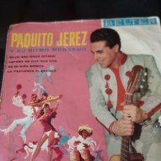 Discos de vinilo: PAQUITO JEREZ Y SU RITMO MODERNO.1961. Lote 173500722