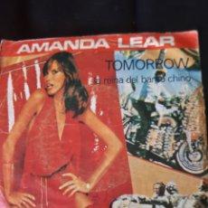 Discos de vinilo: AMANDA LEAR. TOMORROW. 1977. Lote 173501027