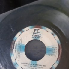 Discos de vinilo: ROCKWELL. SOMEBODY'S WATCHING ME. 1984. SIN CARATULA. Lote 173504384