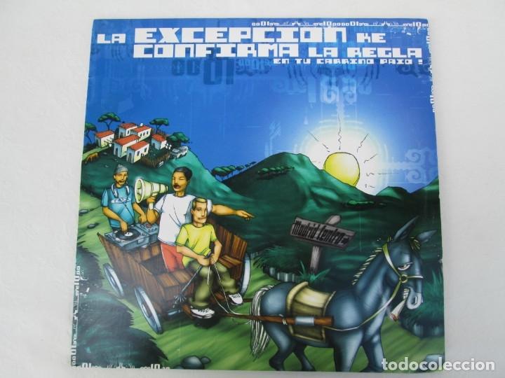Discos de vinilo: LA EXCEPCION KE CONFIRMA LA REGLA. LP VINILO. ZONA BRUTA 2002. VER FOTOGRAFIAS ADJUNTAS - Foto 2 - 173511888