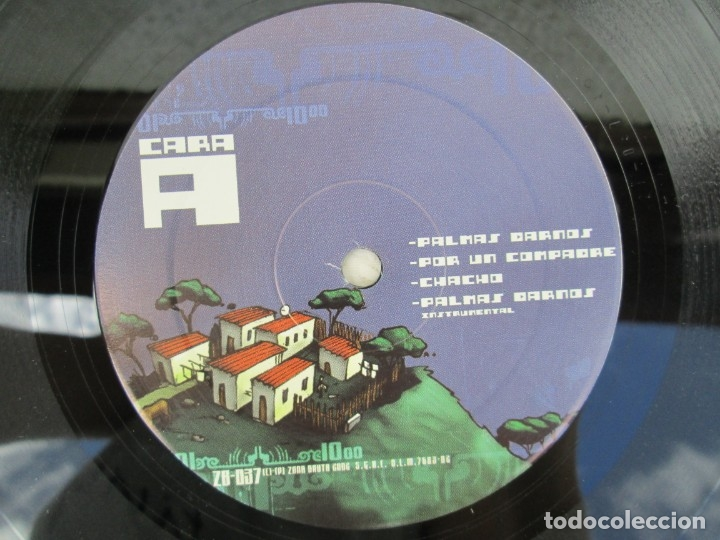 Discos de vinilo: LA EXCEPCION KE CONFIRMA LA REGLA. LP VINILO. ZONA BRUTA 2002. VER FOTOGRAFIAS ADJUNTAS - Foto 4 - 173511888