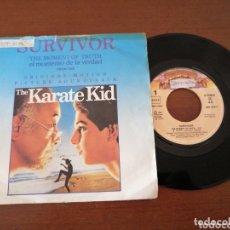 Discos de vinilo: SURVIVOR THE KARATE KID CASABLANCA 1984. Lote 173517759