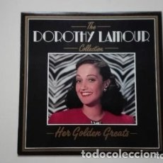 Discos de vinilo: DOROTHY LAMOUR THE COLLECTION 18 GOLDEN GREATS DEJA VU LP 1987. Lote 173519330