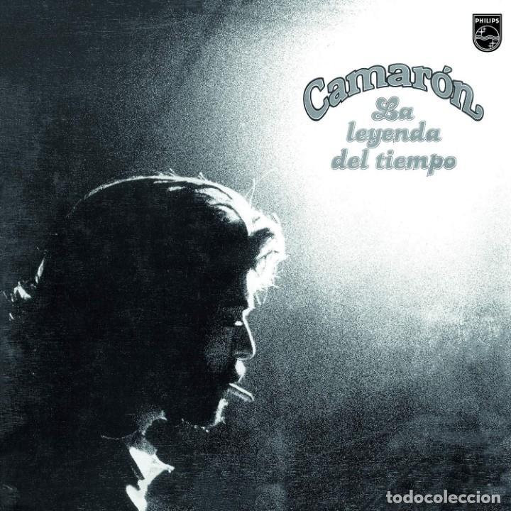 LP CAMARON LA LEYENDA DEL TIEMPO VINILO COLOR REMASTERIZADO FLAMENCO (Música - Discos - LP Vinilo - Flamenco, Canción española y Cuplé)