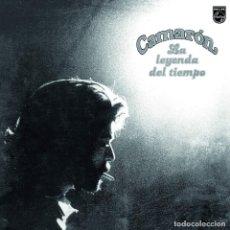 Discos de vinilo: LP CAMARON LA LEYENDA DEL TIEMPO VINILO COLOR REMASTERIZADO FLAMENCO. Lote 245198450
