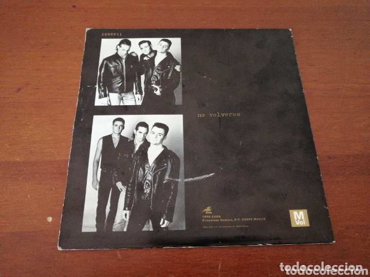 Discos de vinilo: SANTUARIO NO VOLVERÁS GASA PROMO 1993 - Foto 2 - 173520713