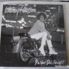 Discos de vinilo: WHITNEY HOUSTON I'M YOUR BABY TONIGHT. Lote 173520724