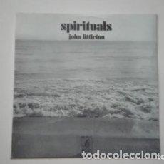 Discos de vinilo: JOHN LITTLETON SPIRITUALS LP EDIGSA 1971. Lote 173520963