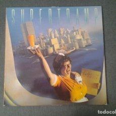 Discos de vinilo: SUPERTRAMP -BREAKFAST IN AMERICA - LP 1979 AM RECORDS ED. ESPAÑOLA AMLK 64747 MUY BUENAS CONDICIONES. Lote 173521327