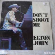 Discos de vinilo: ELTON JOHN DON'T SHOOT ME I'M ONLY THE PIANO PLAYER. Lote 173522090