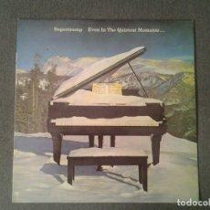 Discos de vinilo: SUPERTRAMP -EVEN IN THE QUIETEST MOMENTS...- LP AM RECORDS 1977 ED. ESPAÑOLA AMLK 64634 MUY BUENAS C. Lote 173523324
