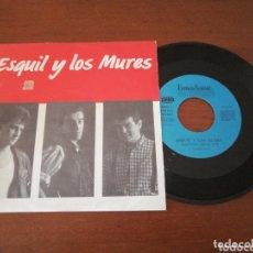 Disques de vinyle: ESQUIL Y LOS MURES MIENTRAS LABORO FONOASTUR 1989. Lote 173524472