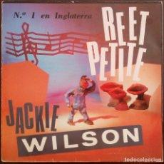 Discos de vinilo: JACKIE WILSON...REET PETITE . (SANNI RECORDS  1987 ) SPAIN.. Lote 173530480