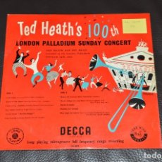 Discos de vinilo: ORQUESTA TED HEATH - LONDON PALLADIUM SUNDAY CONCERT. Lote 173533348