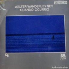 Discos de vinilo: WALTER WANDERLEY SET - CUANDO OCURRIO LP DOBLE PORTADA 1969 SPAIN. Lote 173537085