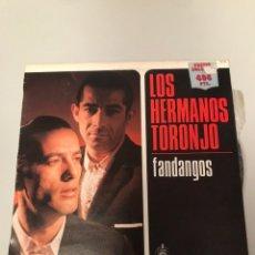 Discos de vinilo: LOS HERMANOS TORONJO - FANDANGOS (VINILO LP). Lote 173543008