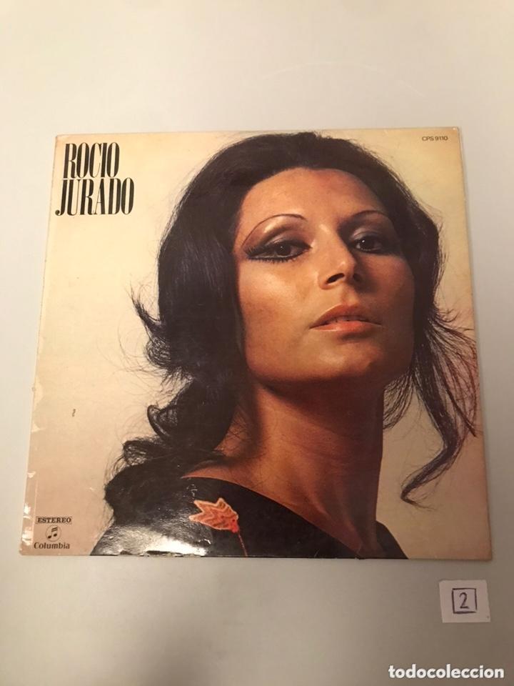 VINILO LP ROCIO JURADO (Música - Discos - LP Vinilo - Flamenco, Canción española y Cuplé)