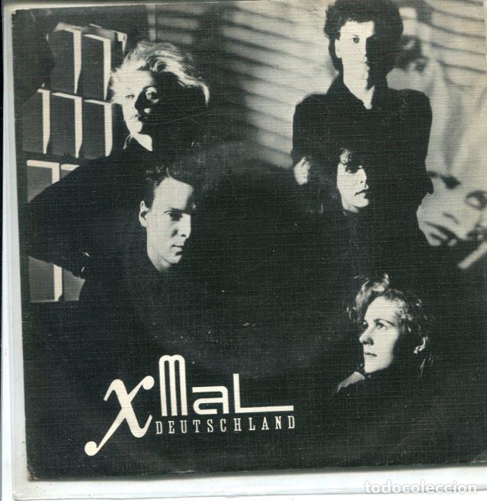 X-MAL DEUTSCHLAND / REIGEN / EILAND (SINGLE PROMO ESPAÑOL 1984) (Música - Discos de Vinilo - Singles - Pop - Rock Extranjero de los 80)