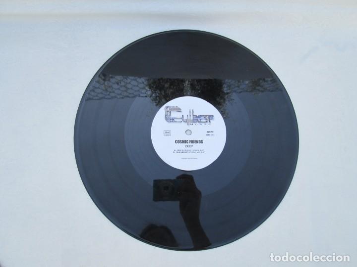Discos de vinilo: COSMI FRIENDS. DEEP. MAXI SINGLE VINILO. CIBER MUSIC. VER FOTOGRAFIAS ADJUNTAS - Foto 5 - 173557119