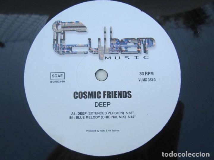 Discos de vinilo: COSMI FRIENDS. DEEP. MAXI SINGLE VINILO. CIBER MUSIC. VER FOTOGRAFIAS ADJUNTAS - Foto 6 - 173557119