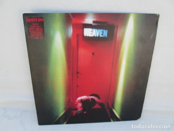 NEARLY GOD. HEAVEN. LP VINILO. 1996 ISLAND RECORDS. VER FOTOGRAFIAS ADJUNTAS (Música - Discos - LP Vinilo - Electrónica, Avantgarde y Experimental)