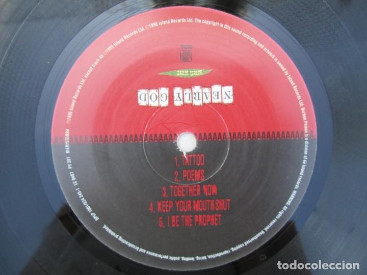 Discos de vinilo: NEARLY GOD. HEAVEN. LP VINILO. 1996 ISLAND RECORDS. VER FOTOGRAFIAS ADJUNTAS - Foto 4 - 173557775