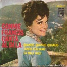Discos de vinilo: EP CONNIE FRANCIS CANTA AL DI LA MGM HISPAVOX 067 77 SPAIN. Lote 173557959