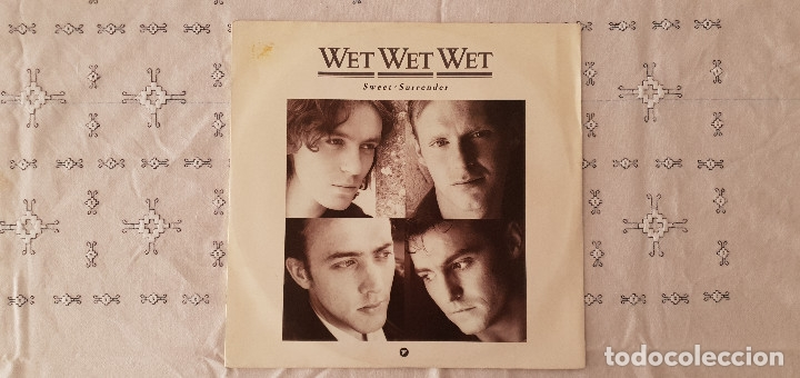 WET WET WET ‎– SWEET SURRENDER SELLO: MERCURY ‎– 876 135-1, THE PRECIOUS ORGANISATION ‎– 876 135-1 (Música - Discos de Vinilo - Maxi Singles - Pop - Rock - New Wave Extranjero de los 80)