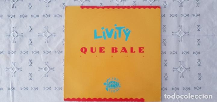 Discos de vinilo: Livity – Que Bale Remix Sello: WEA – PRO 1076 Formato: Vinyl, 12 45 RPM, Maxi-Single, Promo - Foto 2 - 173559485