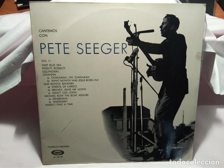 LP – PETE SEGER VOL. II (Música - Discos - LP Vinilo - Cantautores Internacionales)