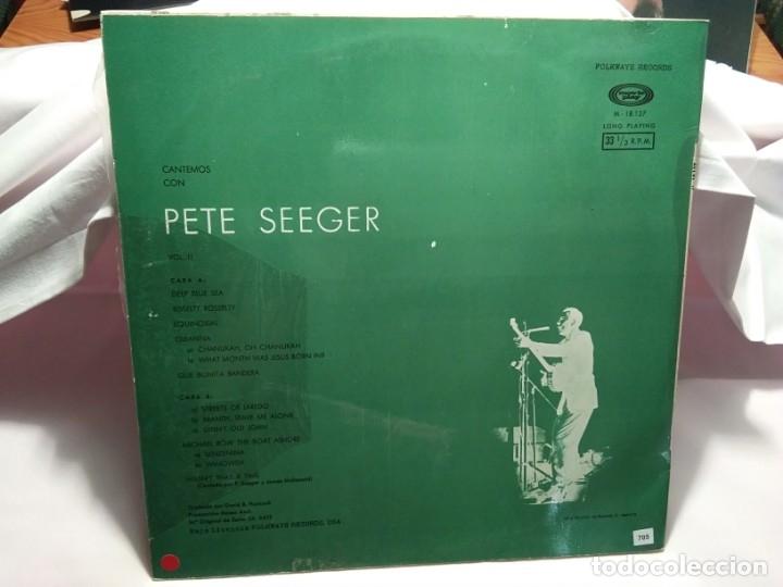 Discos de vinilo: LP – PETE SEGER Vol. II - Foto 2 - 173559719