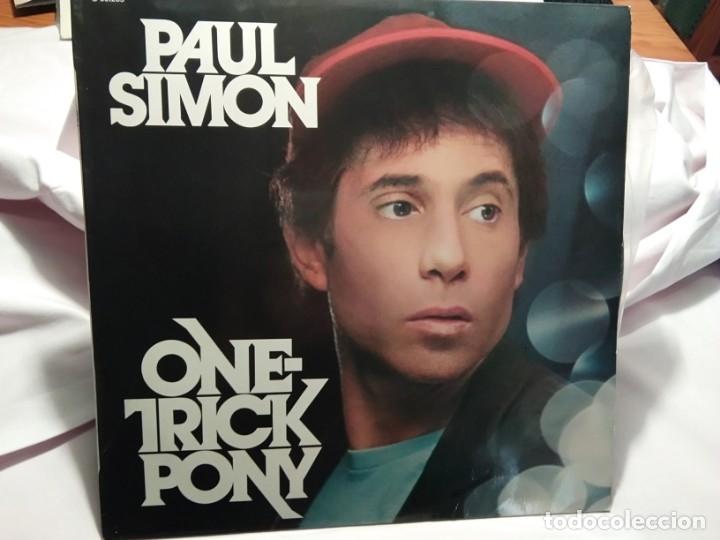 LP – PAUL SIMON – ON TRICK PONY (Música - Discos - LP Vinilo - Cantautores Internacionales)