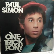 Discos de vinilo: LP – PAUL SIMON – ON TRICK PONY. Lote 173559773