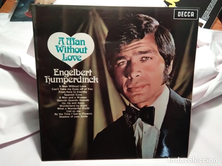 LP – ENGELBERT HUMPERDINCK – A MAN WITHOUT LOVE (Música - Discos - LP Vinilo - Cantautores Internacionales)