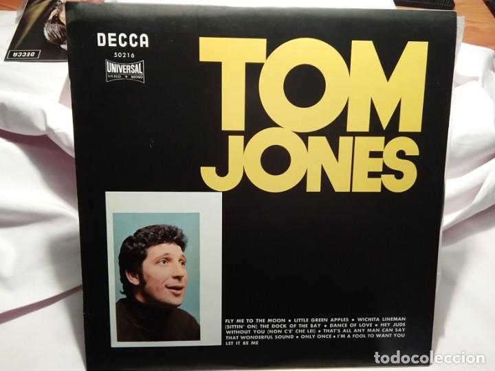 LP – TOM JONES - (Música - Discos - LP Vinilo - Cantautores Extranjeros)