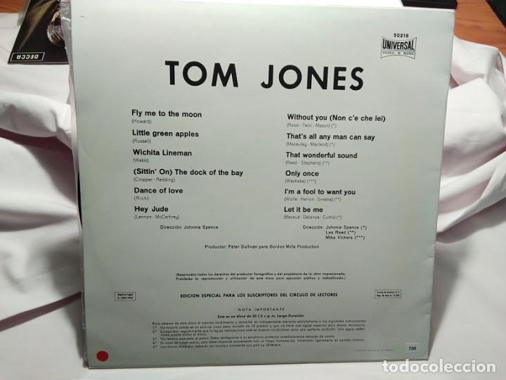 Discos de vinilo: LP – TOM JONES - - Foto 2 - 173559869