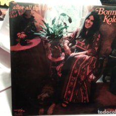 Discos de vinilo: LP – BONNIE KOLOC- AFTER ALL THIS TIME. Lote 173559904
