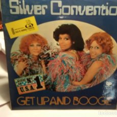 Discos de vinilo: LP – SILVER CONVENTION – GET UP AND BOOGE. Lote 173559963