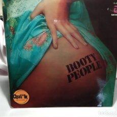 Discos de vinilo: LP – BOOTY PEOPLE - . Lote 173560060