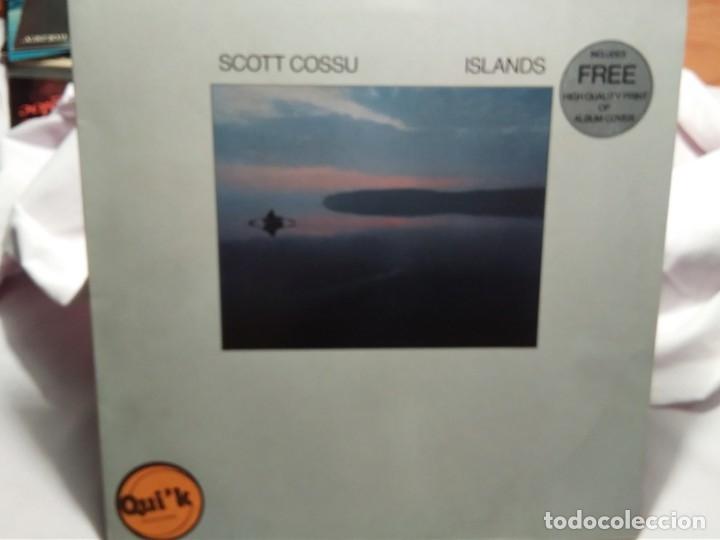 LP – SCOTT COSSU – ISLANDS (Música - Discos - LP Vinilo - Cantautores Internacionales)
