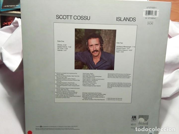 Discos de vinilo: LP – SCOTT COSSU – ISLANDS - Foto 2 - 173560487