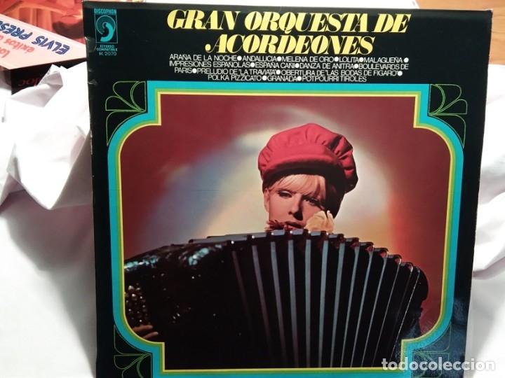 LP – GRAN ORQUESTA DE ACORDEONES (Música - Discos - LP Vinilo - Orquestas)