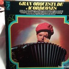 Discos de vinilo: LP – GRAN ORQUESTA DE ACORDEONES . Lote 173561085