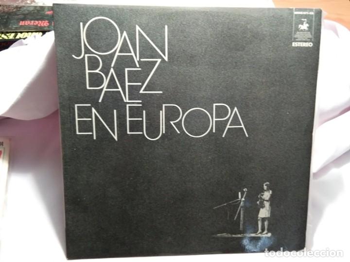 LP – JOAN BAEZ EN EUROPA (Música - Discos - LP Vinilo - Cantautores Internacionales)