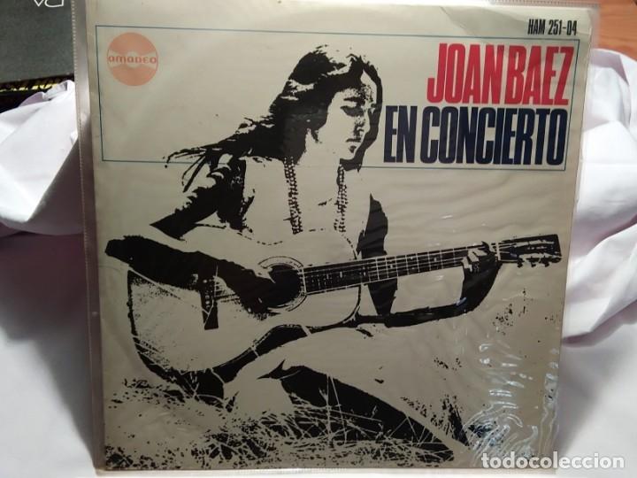 LP – JOAN BAEZ EN CONCIERTO (Música - Discos - LP Vinilo - Cantautores Extranjeros)