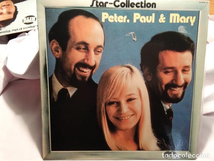 LP – STAR – COLLECTION – PETER, PAUL AND MERY (Música - Discos - LP Vinilo - Cantautores Internacionales)