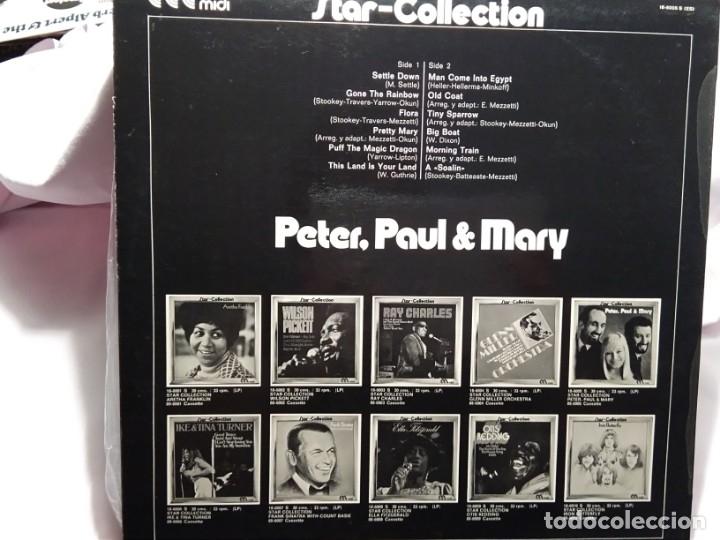 Discos de vinilo: LP – STAR – COLLECTION – PETER, PAUL AND MERY - Foto 2 - 173561480