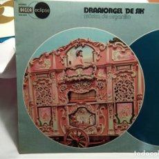 Discos de vinilo: LP – DRAAIORGEL 'DE SIK' – MÚSICA DE ORGANILLO. Lote 173561657