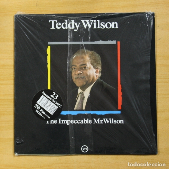 TEDDY WILSON - THE IMPECCABLE MR. WILSON - LP (Música - Discos - LP Vinilo - Jazz, Jazz-Rock, Blues y R&B)