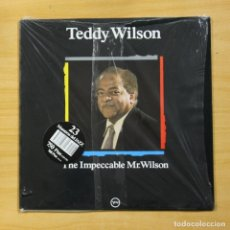 Discos de vinilo: TEDDY WILSON - THE IMPECCABLE MR. WILSON - LP. Lote 173563467